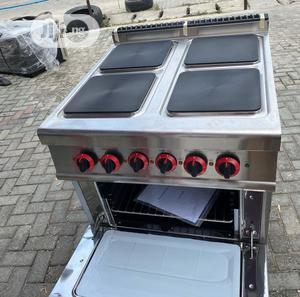4 Burner Electric Cooker With Oven | Restaurant & Catering Equipment for sale in Lagos State, Ojo