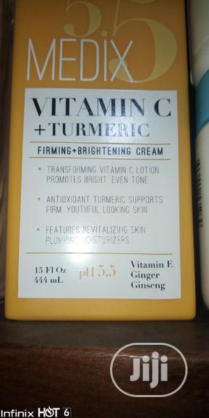 Medix 5.5 Vitamin C + Tumeric Lotion | Skin Care for sale in Lagos State, Ojo