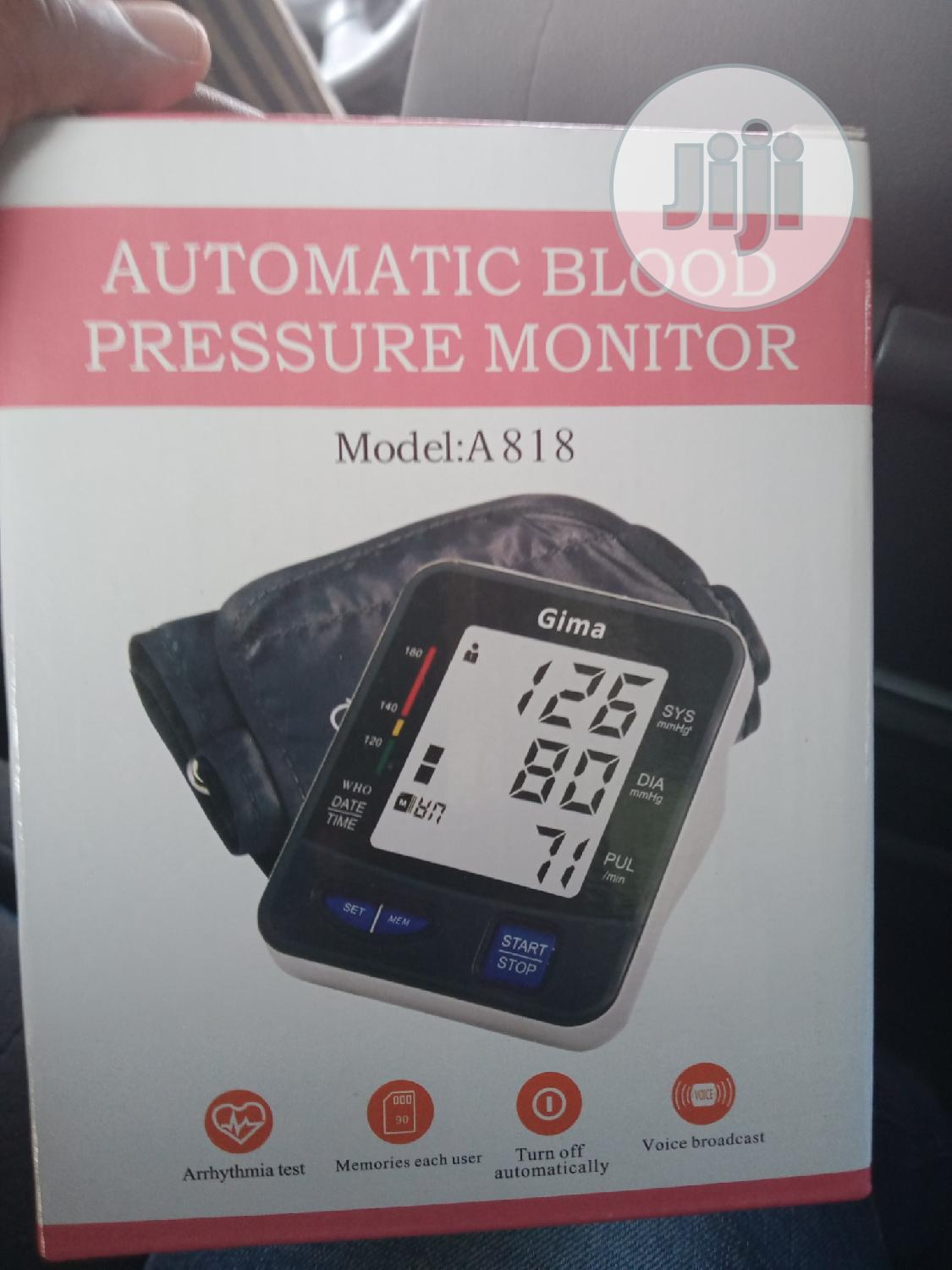 Blood Pressure Monitor   Medical Supplies & Equipment for sale in Central Business District, Abuja (FCT) State, Nigeria