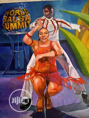 Oil Painting on Canvas   Arts & Crafts for sale in Lagos State, Shomolu