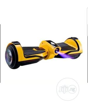 Balance Wheel Bluetooth Hoverboard Scooter Yellow | Sports Equipment for sale in Lagos State, Ikeja