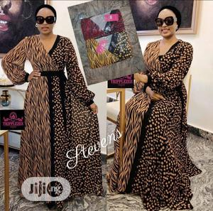 Trendy Female Quality Long Sleeve Maxi Gown | Clothing for sale in Lagos State, Ikeja
