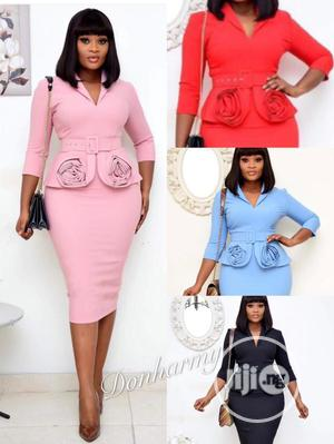 Trendy Ladies Quality Fitted Gown   Clothing for sale in Lagos State, Ikeja