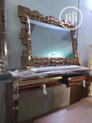 Console and Mirror | Furniture for sale in Abuja (FCT) State, Central Business District