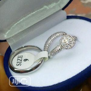 Zirconia Silver Wedding Ring   Wedding Wear & Accessories for sale in Lagos State, Surulere