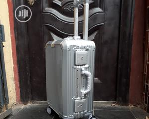 Unbreakable Silver Suitcase in Hand Luggage Size. | Bags for sale in Lagos State, Lagos Island (Eko)