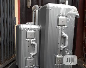 Unbreakable Silver Suitcase With Quality Rotational Wheels | Bags for sale in Lagos State, Lagos Island (Eko)