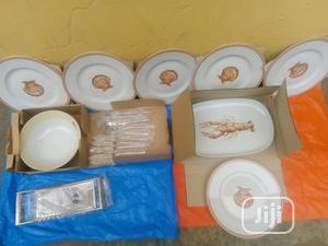 Set of 9 Breakable Plates for Dinning With Cutleries   Kitchen & Dining for sale in Lagos State