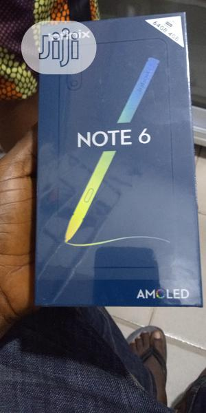 New Infinix Note 6 64 GB Black   Mobile Phones for sale in Lagos State, Ikeja