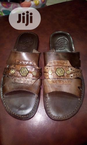 Brown Italian Perm Slippers for Men   Shoes for sale in Lagos State, Surulere