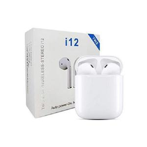 I12tws Android/iPhone Bluetooth Earphone - White   Accessories for Mobile Phones & Tablets for sale in Lagos State, Ojodu