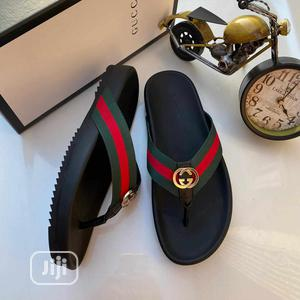 Men Gucci Palm Slippers | Shoes for sale in Lagos State, Mushin