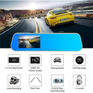 Car Rearview Mirror HD 1080P DVR Driving Video Recorder   Vehicle Parts & Accessories for sale in Lagos State, Alimosho