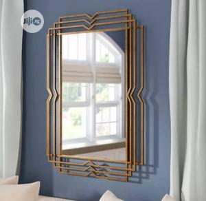 Wall Gold Design Mirror | Home Accessories for sale in Lagos State, Surulere