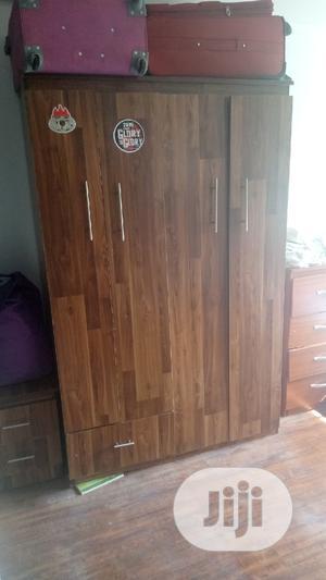 Brown Wardrobe for Sale | Furniture for sale in Abuja (FCT) State, Garki 2