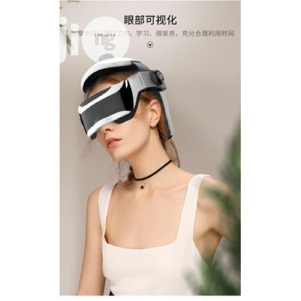Helmet Brain and Eye Massager With Remote Control