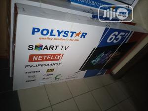 Polystar 65inches Smart TV 4K With Netflix | TV & DVD Equipment for sale in Lagos State, Ikeja