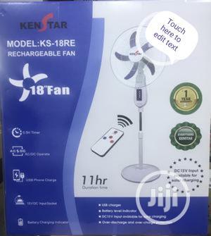 Kenstar Rechargeable Fan. KS-18RE | Home Appliances for sale in Lagos State, Ojo