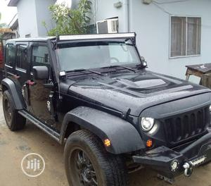 Jeep Wrangler 2013 Black   Cars for sale in Lagos State, Surulere