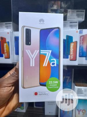 New Huawei Y7a 128 GB Black   Mobile Phones for sale in Lagos State, Ikeja