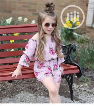 Princess Toddler Girl Romper Floral Sunsuit Outfits   Children's Clothing for sale in Lagos State, Lagos Island (Eko)