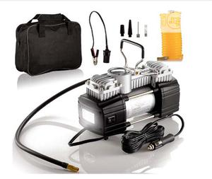 Car Portable Double Cylinder Air Compressor With Light | Vehicle Parts & Accessories for sale in Lagos State, Surulere