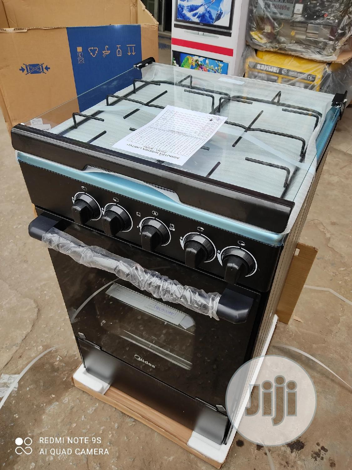 New Midea 4burners All Gas With Oven Blue Flame Warranty