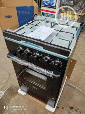 New Midea 4burners All Gas With Oven Blue Flame Warranty   Kitchen Appliances for sale in Lagos State, Ojo