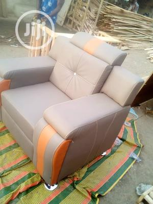 7 Seater Quality Leather Sofa   Furniture for sale in Lagos State, Yaba