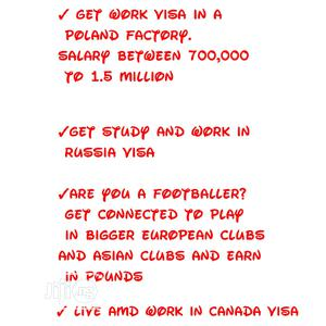 Travel, School and Work Visa for Canada, Russia and Poland | Travel Agents & Tours for sale in Lagos State, Isolo