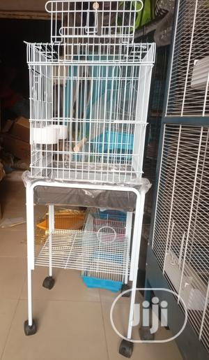 Parrot Cage With Stand | Pet's Accessories for sale in Lagos State, Ifako-Ijaiye
