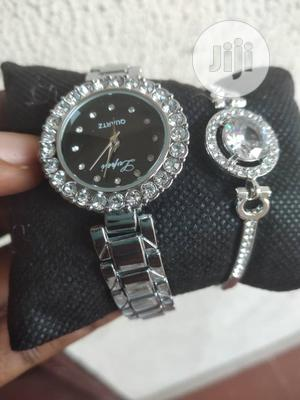 Lovely Women Female Wristwatch With Bracelet   Watches for sale in Lagos State, Ikeja