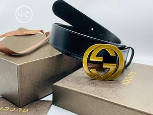 High Quality Gucci Leather Belts for Men | Clothing Accessories for sale in Lagos State, Magodo