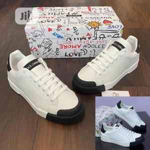 New White Dolce Gabbana Man Sneakers | Shoes for sale in Lagos State, Ikeja