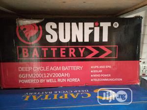 Sunfit 200ah Inverter Battery | Solar Energy for sale in Rivers State, Port-Harcourt