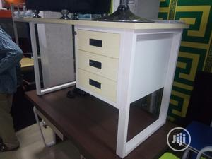 White Metal 1.2 Meter Table   Furniture for sale in Lagos State, Ojo