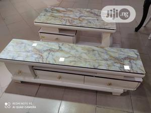 Quality Glass T.V Stand With Center Table | Furniture for sale in Lagos State, Lekki