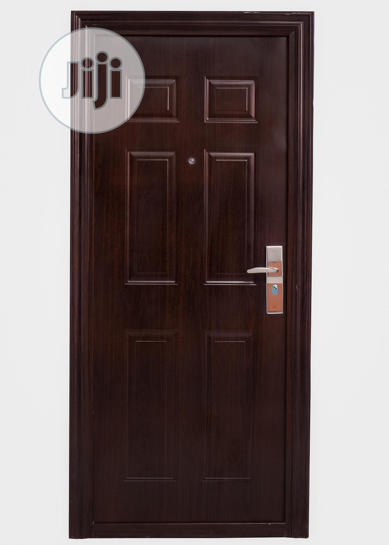 011 Steel Security Door