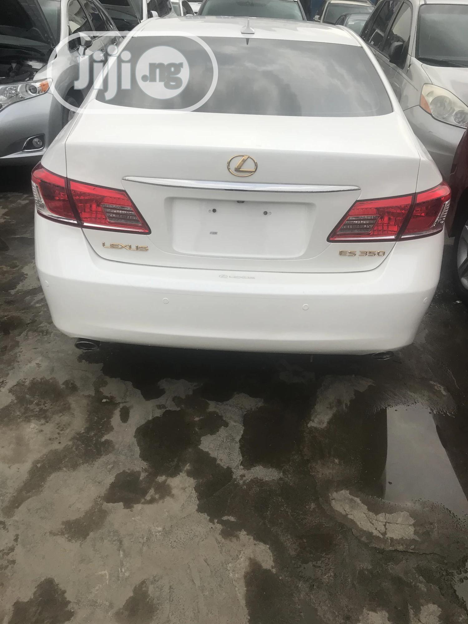 Lexus ES 2010 350 White | Cars for sale in Ikeja, Lagos State, Nigeria