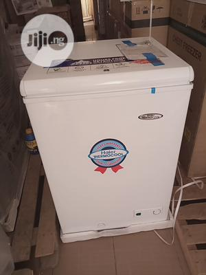 Haier Thermocool 100L Chest Freezer   Kitchen Appliances for sale in Lagos State, Alimosho