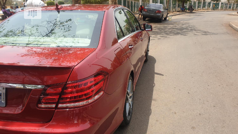 Mercedes-Benz E350 2015 Red | Cars for sale in Garki 2, Abuja (FCT) State, Nigeria