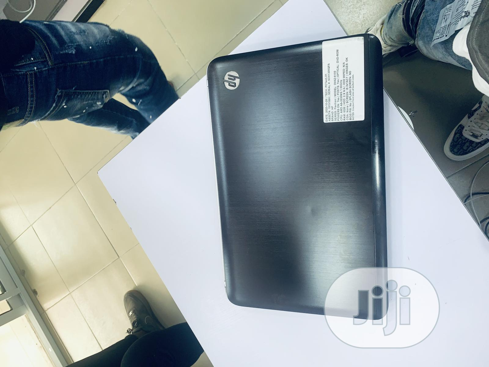 Laptop HP Pavilion Dv6 4GB AMD A10 HDD 320GB | Laptops & Computers for sale in Ikeja, Lagos State, Nigeria