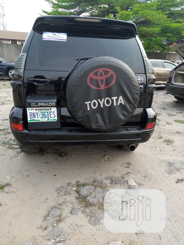 Archive: Toyota Land Cruiser Prado 2006 GX LIMITED Black
