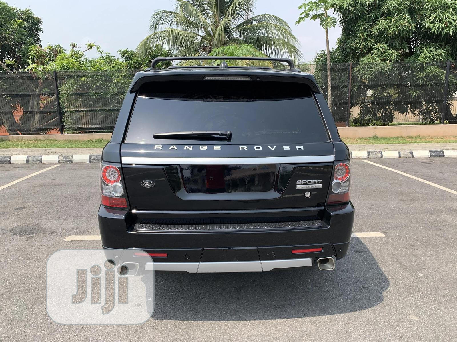 Land Rover Range Rover Sport 2008 4.2 V8 SC Black   Cars for sale in Amuwo-Odofin, Lagos State, Nigeria
