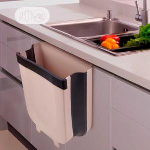 Folding Waste Bin Hanging Trash Can | Home Accessories for sale in Lagos State, Alimosho