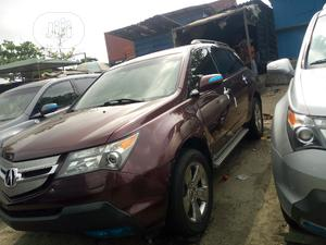 Acura MDX 2008 SUV 4dr AWD (3.7 6cyl 5A) Burgandy   Cars for sale in Lagos State, Amuwo-Odofin