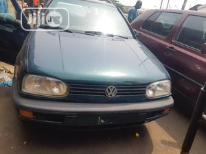 Volkswagen Golf 1999 2.0 Green   Cars for sale in Lagos State, Surulere