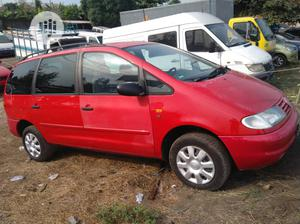 Volkswagen Sharan 1999 2.0 Red   Cars for sale in Lagos State, Surulere