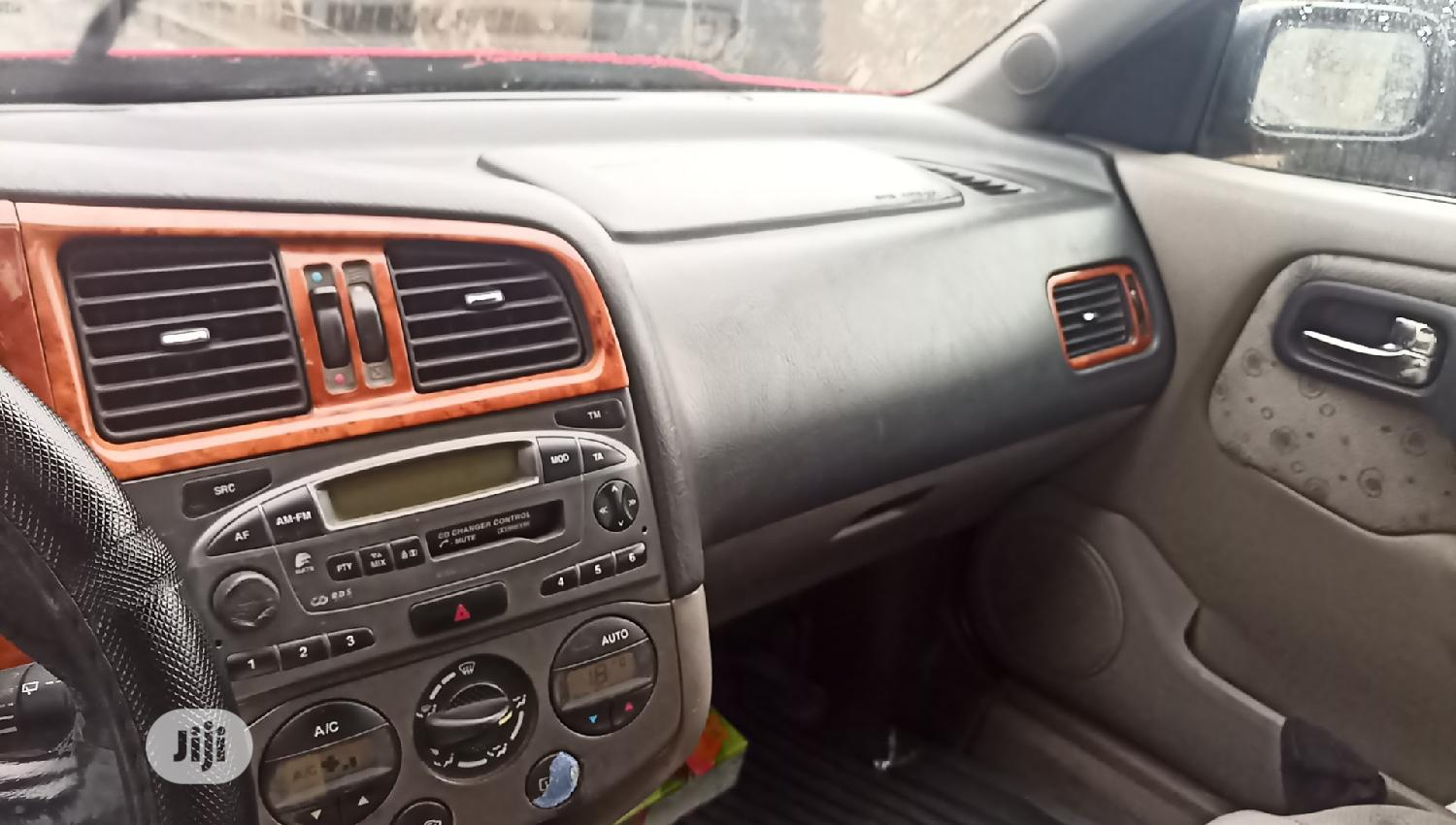 Nissan Primera 2000 2.0 D Wagon Red   Cars for sale in Port-Harcourt, Rivers State, Nigeria
