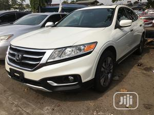 Honda Accord CrossTour 2014 EX-L W/Navigation AWD White | Cars for sale in Lagos State, Apapa